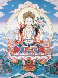 Четырехрукий Авалокитешвара