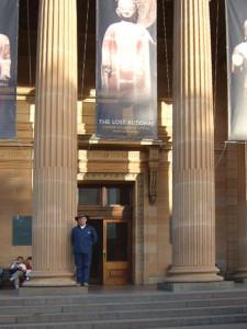 Энди Уэбер в Сиднее
