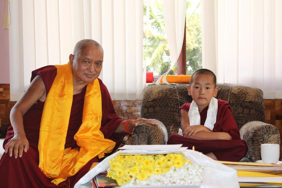 Лама Сопа Ринпоче и перерождение его учителя Рибура Ринпоче