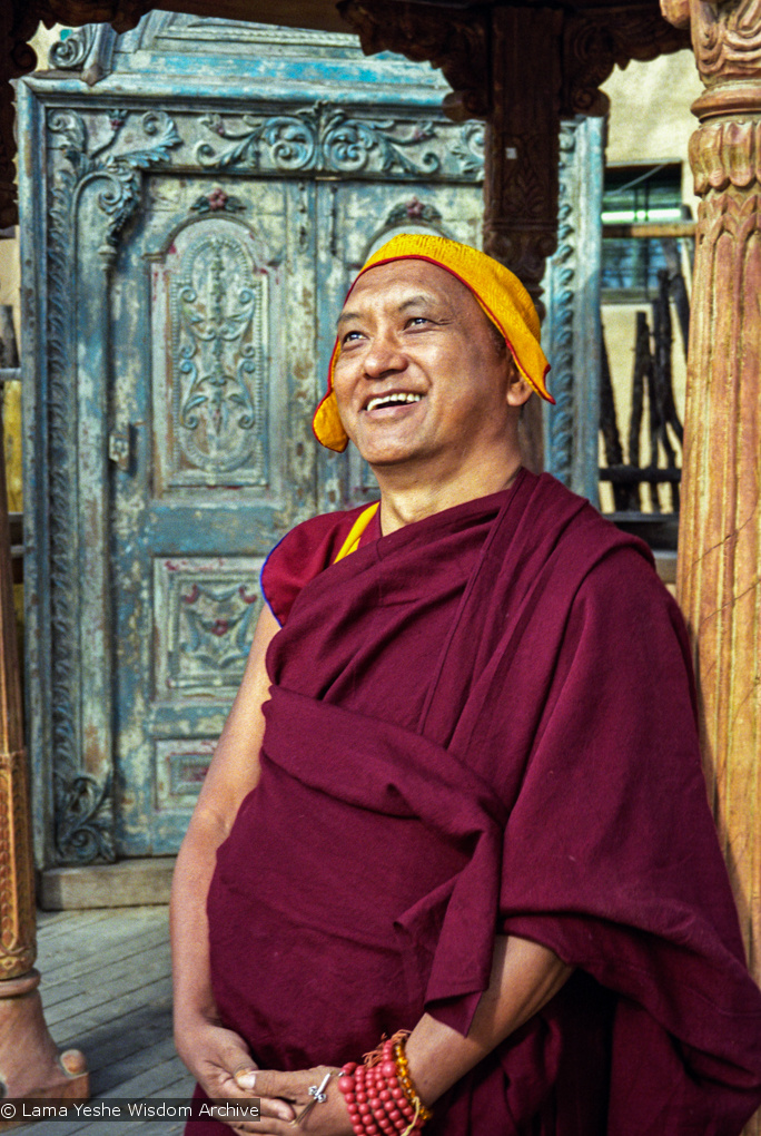 Photo Shoot with Rinpoche, Taos 1999