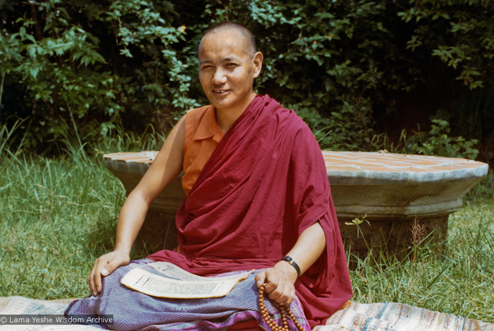 Lama Yeshe at Kopan, 1972